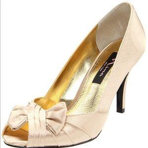 Nina Forbes-YS Peep-Toe Pump Women's Size 11